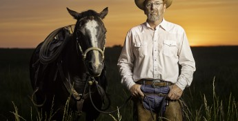 rancher and horse