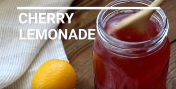 cherry sports drink