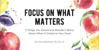 Focus On What Matters: Health & Nutrition Ebook | Kansas Living Magazine | Kansas Farm Bureau