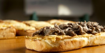 philly steak cheese bread