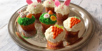 Decorated Easter Cupcakes