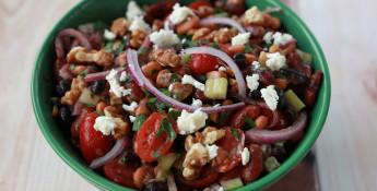 Cranberry Bean Salad