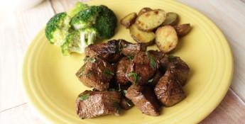 steak bites 3 ways