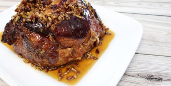 Maple Pecan Glazed Ham, Chef Alli