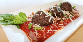 Meatballs and Fresh Tomato Basil Sauce | Chef Alli | Kansas Living