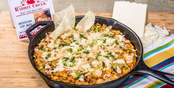 skillet enchilada dip