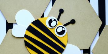 Bumble Bee Buddy Kids Craft