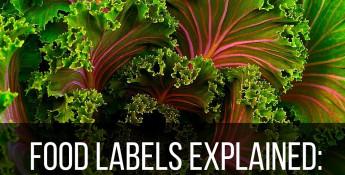 organic food and non-organic food