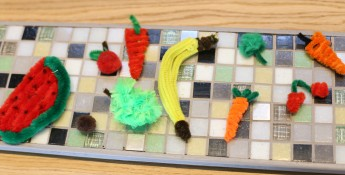 pipe cleaner fruits and veggies crafts