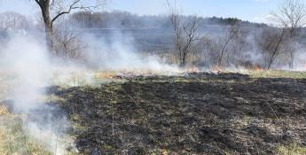 Prescribed burning in Kansas
