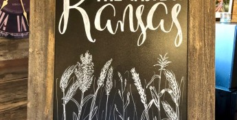 Taste of Kansas sign