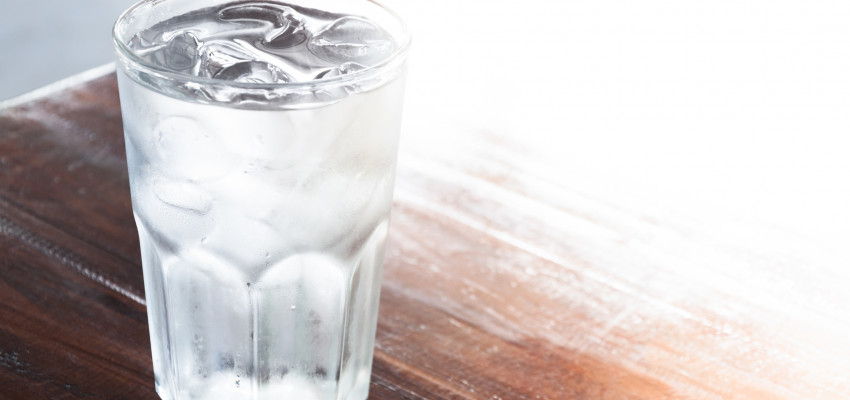 water in a cup