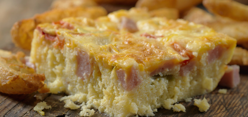 Creamy Bacon and Egg Wake-Up Casserole
