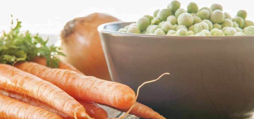 Fresh vs frozen vegetables