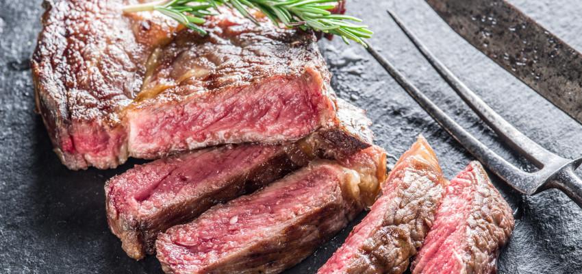 Cut Ribeye Steak