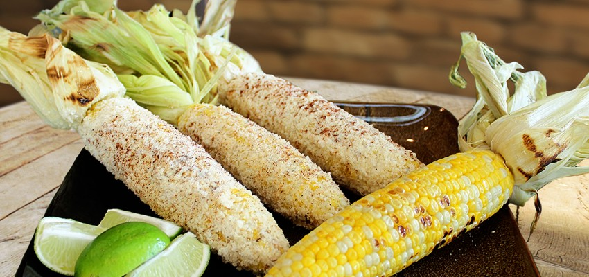 Grilled Parmesan and Lime Sweet Corn   Chef Alli   Kansas Living Magazine