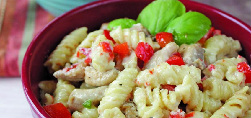 creamy italian chicken rotini