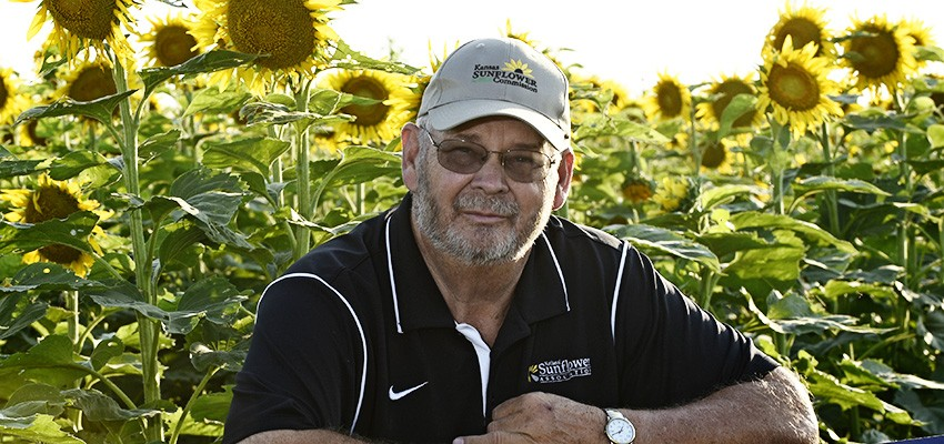 sunflower farmer