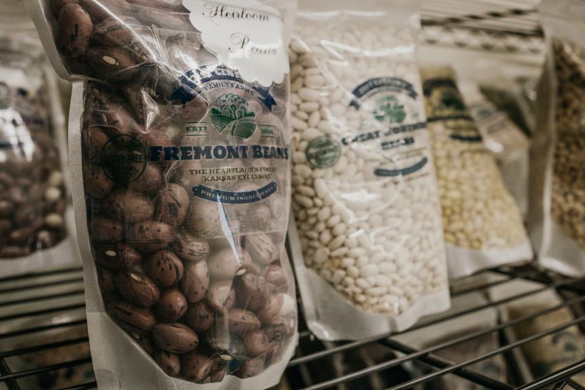 21st Century Beans on Shelves