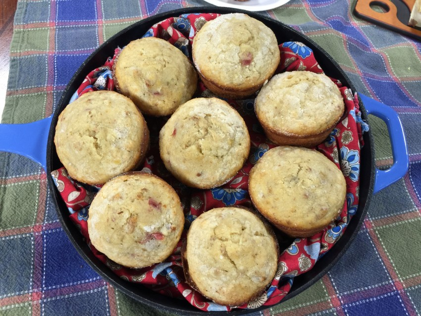 Cherry Pecan Banana Muffin photo