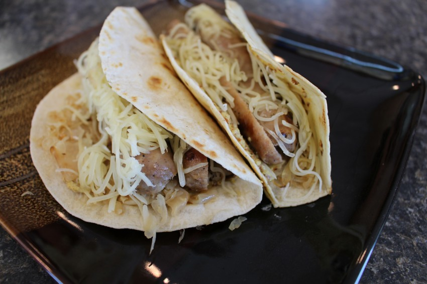 Brat Wraps Recipe | Chef Alli | Kansas Living