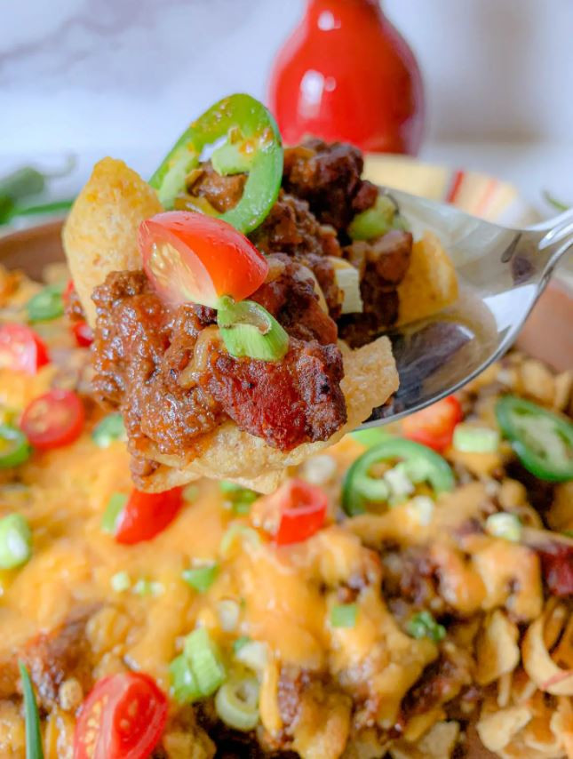 Tailgater Frito Pie with Cowgirl Chili