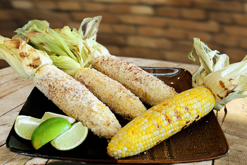 Grilled Parmesan and Lime Sweet Corn | Chef Alli | Kansas Living Magazine