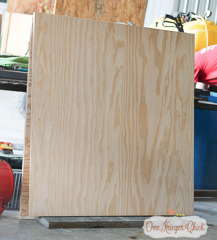 plywood for barn quilt