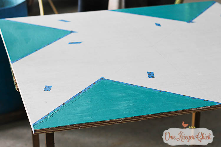 painted plywood for barn quilt