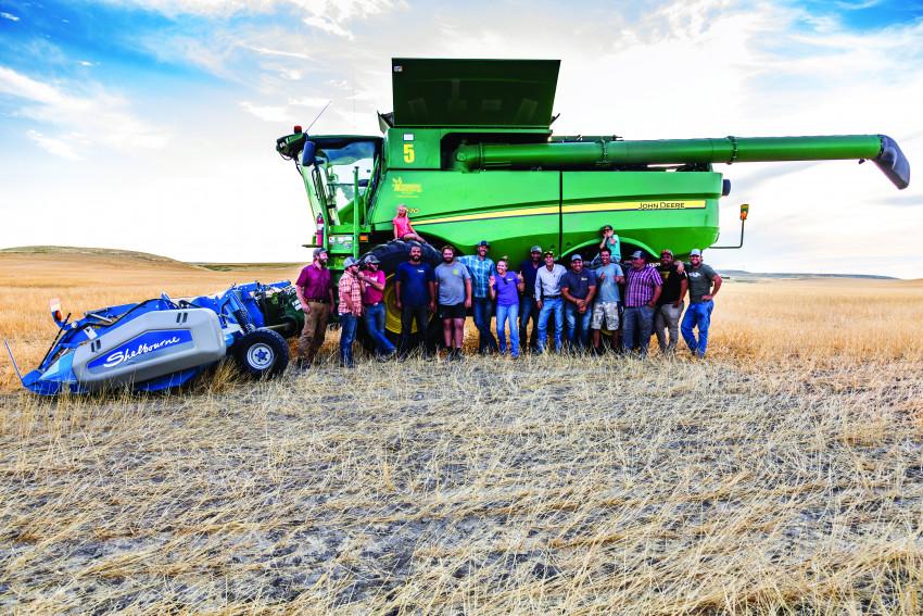 High Plains Harvesting Crew