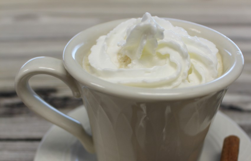 Slow Cooker White Chocolate Latte