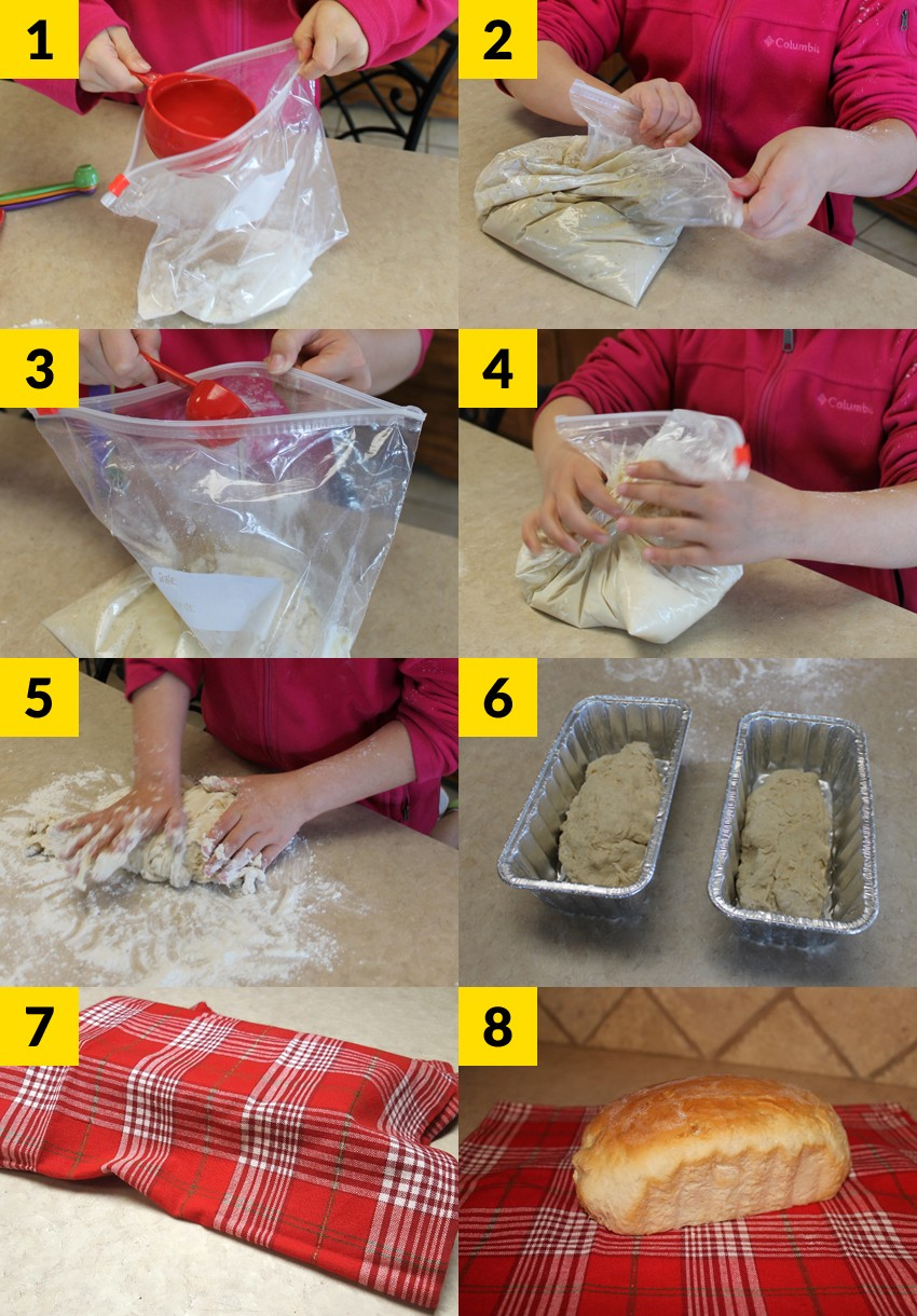 Bread In A Bag Steps