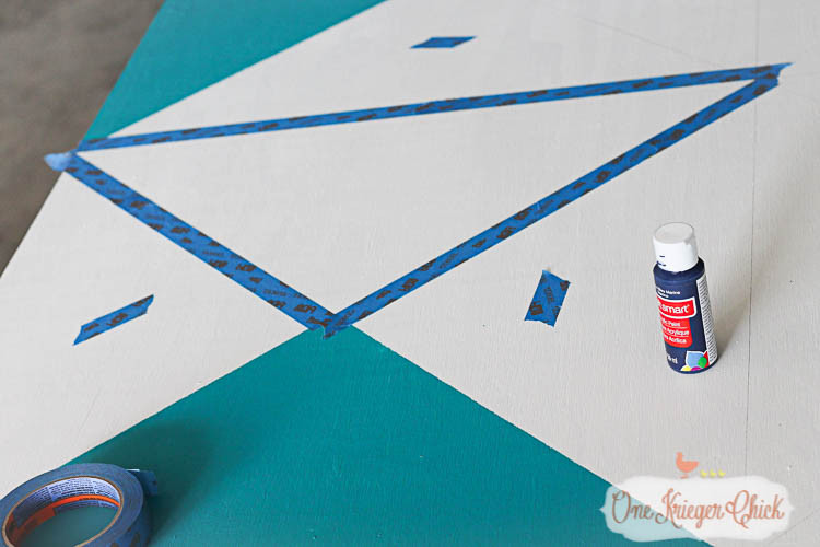 painting barn quilt