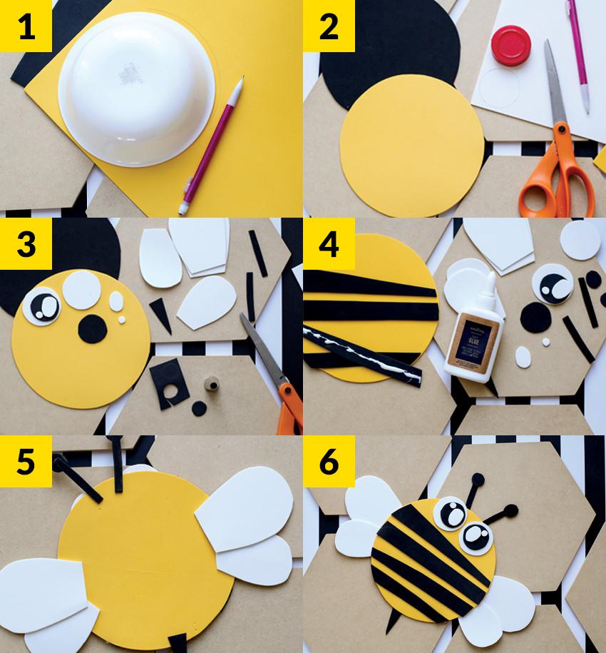 Kids Craft Bumble Bee Buddy