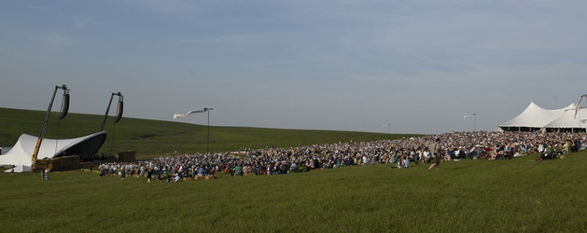 Symphony in the Flint HIlls crowd