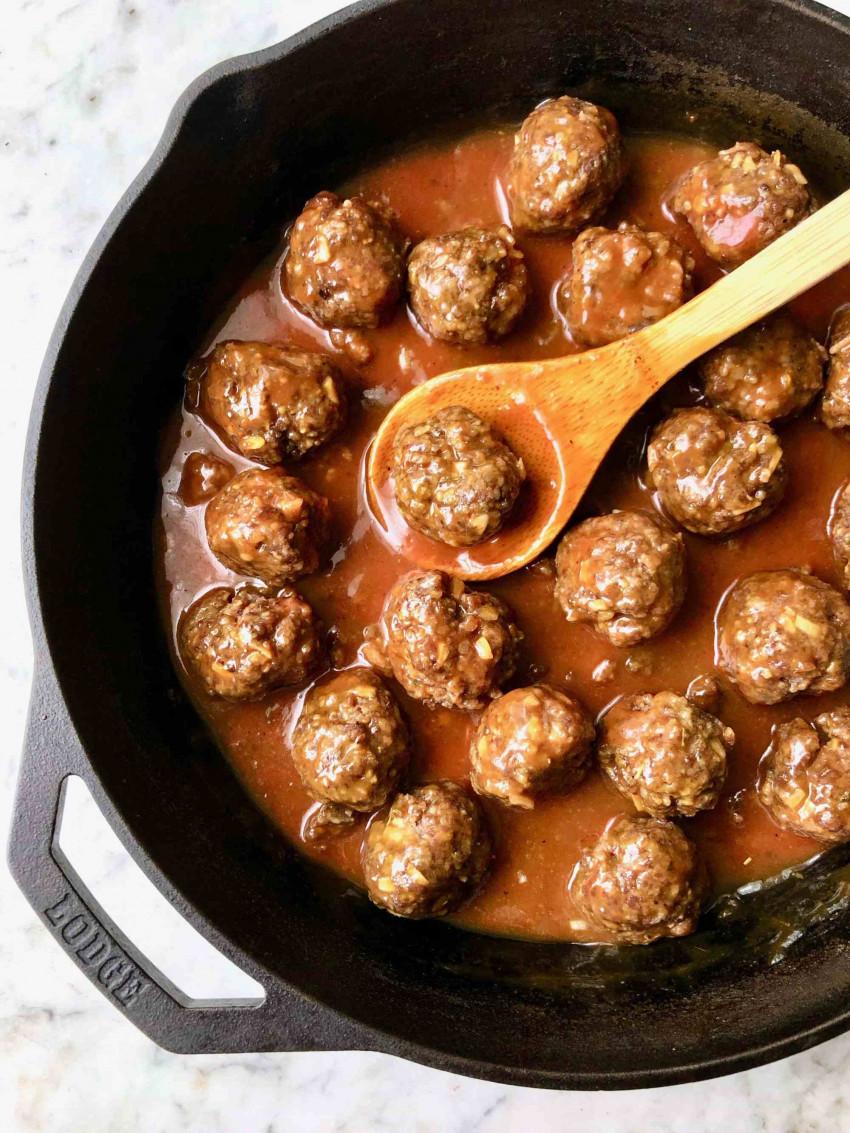 Tailgate Meatballs