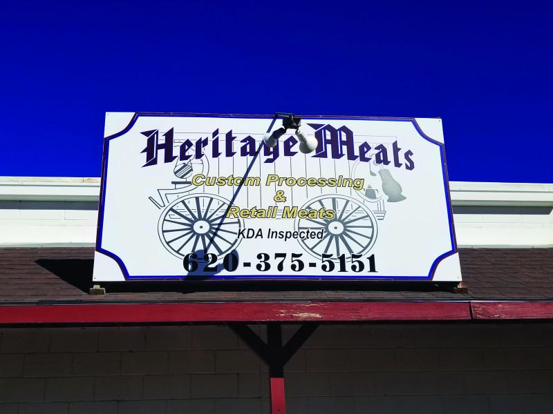 Heritage Meats Signage