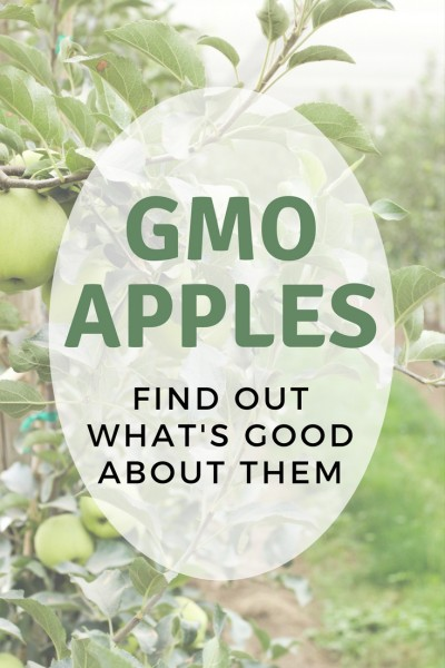 GMO apples? Find out the positives.