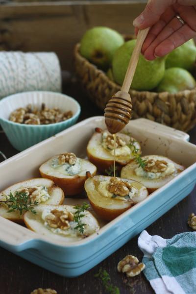 baked-pears-gorgonzola-honey