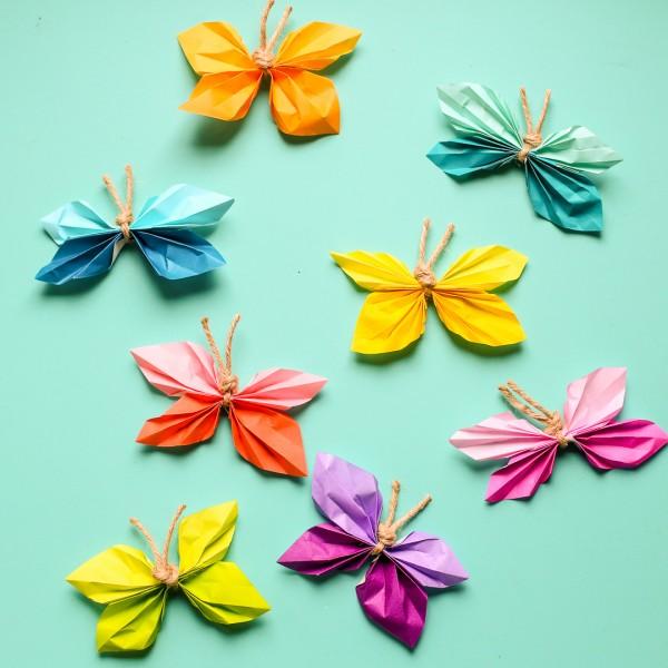 Kids Craft Paper Butterflies Kansas Living Magazine