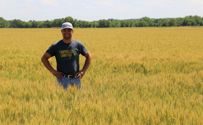 Hayden Guetterman in Field