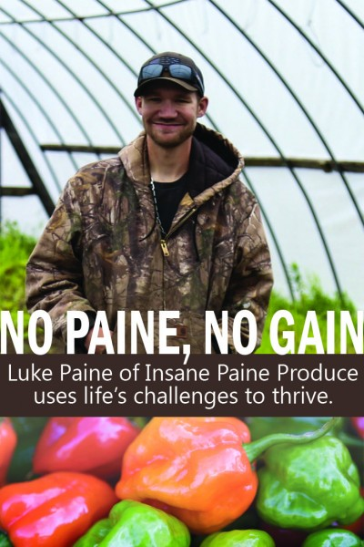 Luke Paine didn't let any pain stop him from reaching his potential