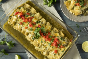 enchiladas with turkey leftovers