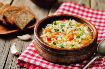 orzo soup with turkey leftovers