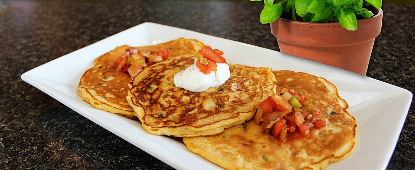 Mexican Corn Fritters | Chef Alli | Kansas Living Magazine
