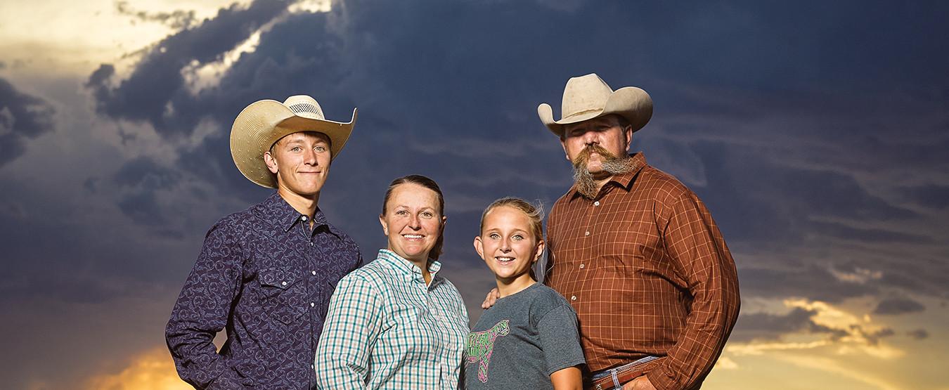 Kansas ranch family