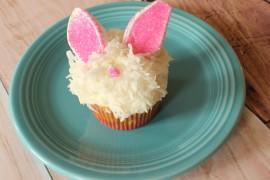 Fluffy Bunny Cupcake