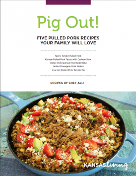 Pig Out! Pulled Pork Recipe Ebook by Chef Alli | Kansas Living