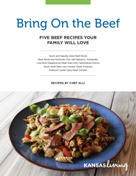 Chef Alli's Beef Recipes Ebook – Cover