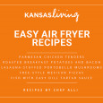 Easy Air Fryer Recipes Ebook | Kansas Living Magazine | Kansas Farm Bureau